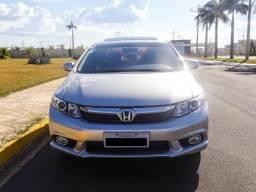 Honda Civic EXS - Com Teto e Kit Multimidea Original - 2013