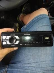 Radio Pósitron USB e Bluetooth