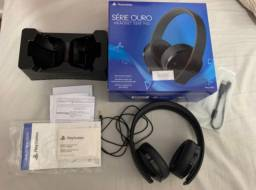 Headset Sony Gold 7.1 Bluetooth