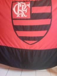 Vendo bandeira do Flamengo