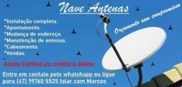 Apontamento de antenas