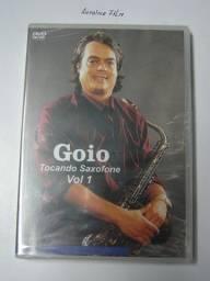 Tocando Saxofone Dvd Volume 1 Original Novo Lacrado Português Br Prof. Goio Lima