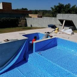 Revestimento vinílico para piscina