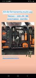 Kit de ferramenta multi uso completo