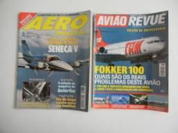 Revistas de aviação - aviões