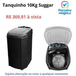 Tanquinho 10Kg Suggar Lavamax Eco - Desligamento Automático Timer Flitro Cata-Fiapos<br><br>