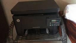 Impressora hp laserjet pro mfp m176n, máquina de copos