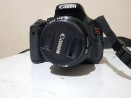 Canon T3i 26k clicks + 50mm 1.8