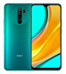 "Xiaomi Redmi 9 64GB / 4GB RAM / 4G / Tela 6.53"" / Câmeras 13MP- Green<br><br>"