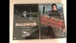DVD Halloween + DVD Busca Implacável