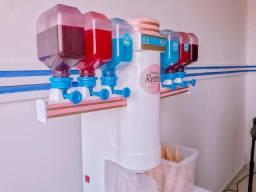 Máquina de sorvete sabor da infância