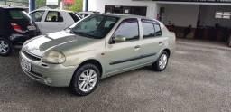 Lindo Renault Clío sedan 1.0 2003 completo