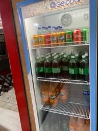 Geladeira expositora de bebida freezer pra refrigerante ou cerveja
