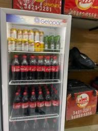 Geladeira e expositora de bebida freezer