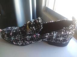 Sapato estilo mocassim