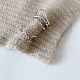 Conjunto Anéis Prata 925
