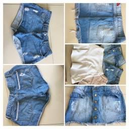 Lote de roupas infanto juvenil