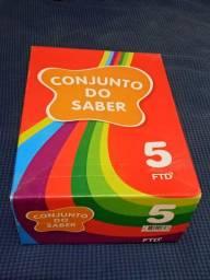 Livros 5° ano - Coleçao Conjunto do Saber