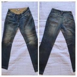 Lote de calça jeans tamanho 40