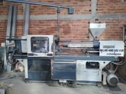 Injetora de plástico himaco lhs400-120a