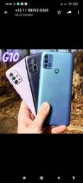 Smartphone Motorola Moto G10 64GB - 4G 4GB RAM Tela 6,5? Câm. Quádrupla + Selfie 8MP
