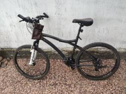 Bike Bicicleta aro 26 ozark trail em alumínio e freio a disco