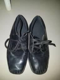 Sapato social infantil n 31 usado poucas vezes
