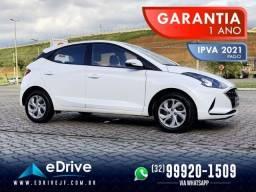 Hyundai Hb20 Vision 1.0 Flex Mec. - IPVA 2021 Pago - Uber - Financio - Troco - 2020