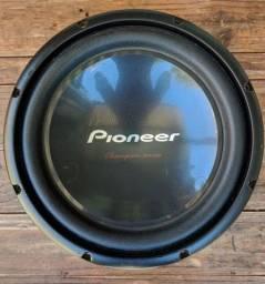 Subwoffer Pioneer  (cara Preta) semi novo
