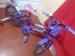 Bicicleta Cairu16 Nova 1 mês de uso tem documento 400 reais