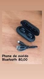 Fone de Ouvido B5 TWS Bluetooth 5.0