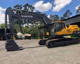Escavadeira volvo EC 380 DL ( parcelo )