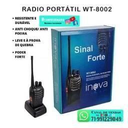 Rádio Comunicador Portátil De Duas Vias Profissional