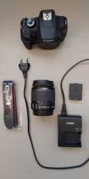 Câmera Canon Digital T5 Rebel + Lentes 18-55mm