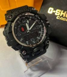 G-Shock Mudmaster Vermelho/Preto - Linha Gold