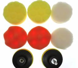 Boina de polimento Espumas E Lã 3 Pol 8cms