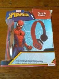 Fone De Ouvido Dobravel Homem Aranha