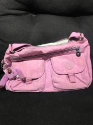 Bolsa Kipling rosa