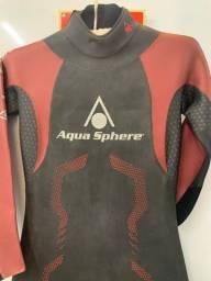 Roupa de Borracha Aqua Sphere Challenger 2016 Masculino / P