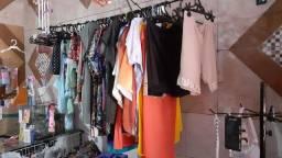 Material para loja de confecções e armarinho