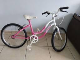 Bicicleta usada $ 250 ou troco por um Patis de 4 rodinhas