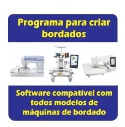 Embird 2017 Português + Brindes Matrizes