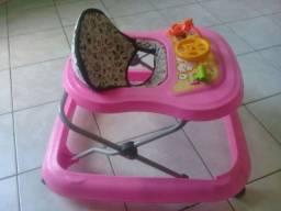 Andador Tutti Baby Safari - Rosa<br>