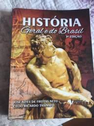 LIVRO DE HISTÓRIA GERAL E DO BRASIL EDITORA HARBRA