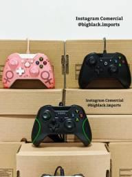 Controle Xbox One Com Fio Entrada P2 Compatível Com Todos Os Modelos De One e PC
