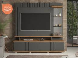 Estante Home Copacabana 100% MDF com LED Tv Até 60''