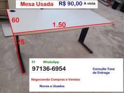 Mesa por 90 reais- Usada- Barreiro de Baixo BH MG