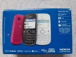 Nokia Asha 201 em ótimas condições