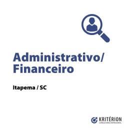 Vaga Administrativo/Financeiro