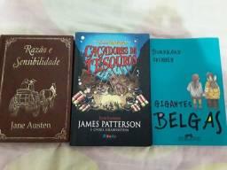 Livros clássicos e atuais